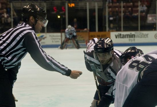 Schiedsrichter-Eishockey-Schiedsverfahren