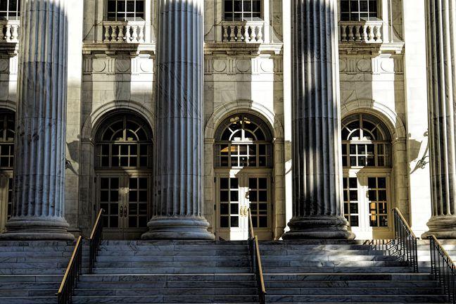 Eingang-Gerichtsgebaeude