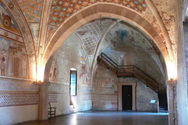 Gerichtssaal-Rocca-di-Angera-Sala-di-Giustizia