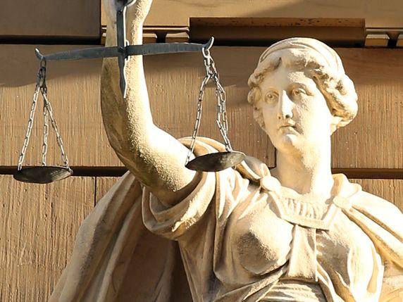 Justitia-Waage