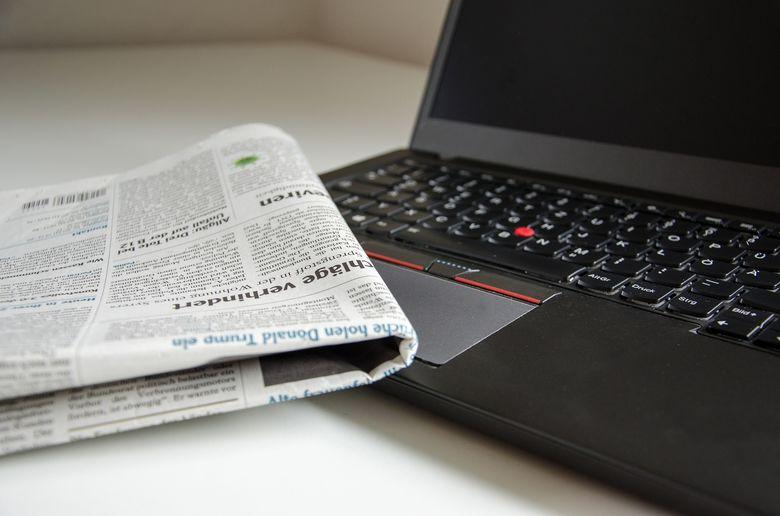 Tageszeitung-Notebook